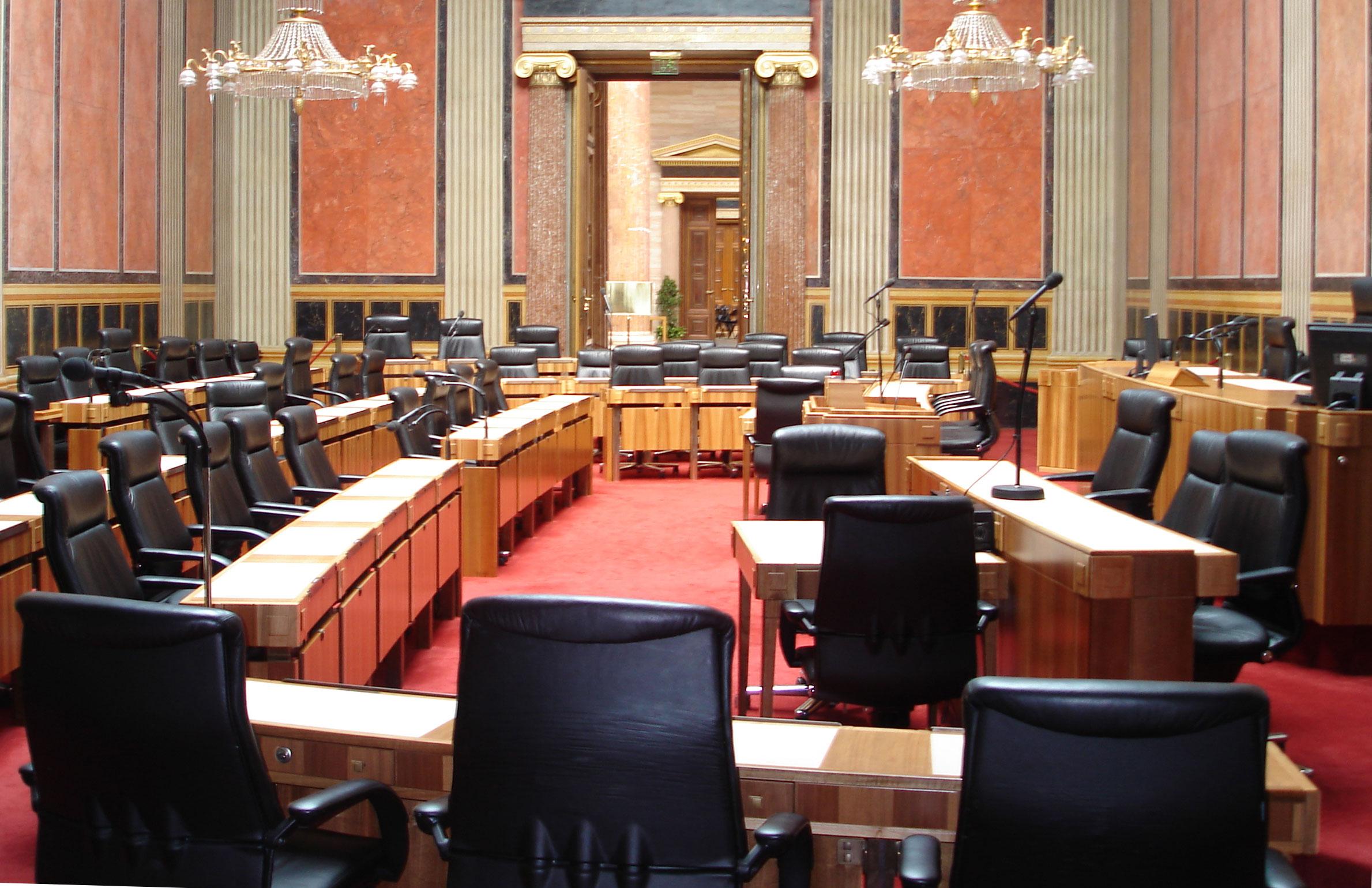 Bundesraat Sitzungssaal